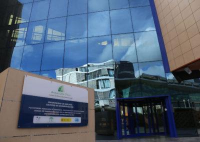 Edificio de bioinnovación de la UMA