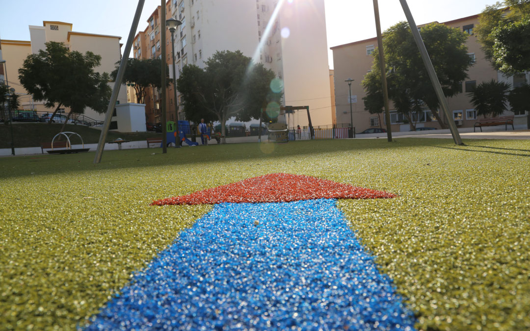 Parque urbano en Ciudad Jardín