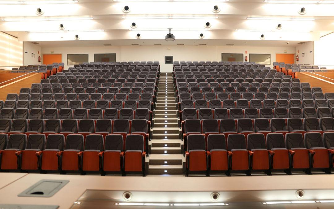 Auditorio de las facultades de ingenierías de la UMA